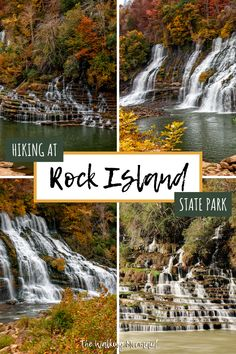 Hiking at Rock Island State Park