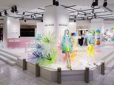 Bloom Bloom Bloom Pop-up Shops by Emmanuelle Moureaux