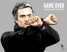the special one in vector art by Yusuf-Graphicoholic on DeviantArt The Special One, Football Art, Noragami, Manchester United, Vector Art, Deviantart, Illustration, Poster, Fictional Characters