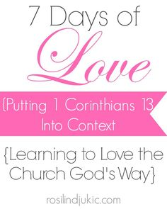 Who was 1 Corinthians 13 written to? Lovers? Let's look at the book as a whole, and then put the love passage back into its proper context.