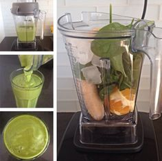 Simple Green Smoothie - Rabbit Food For My Bunny Teeth