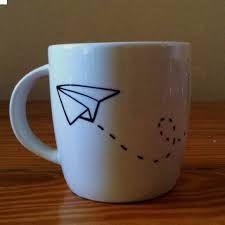 Resultado de imagen para paper airplane in coffee