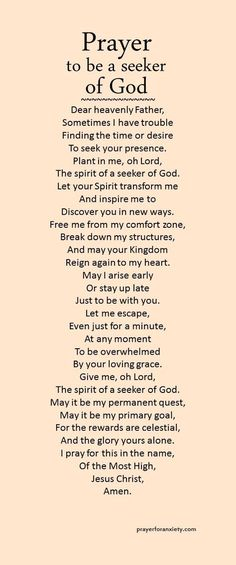 May Lisa and I be seekers of you. Lord, thanks for still allowing us to choose to still seek you when we have failed many times. Note: I also pray this for myself and for everyone! Prayer Times, Prayer Scriptures, Bible Prayers, Faith Prayer, God Prayer, Power Of Prayer, Prayer Quotes, Spiritual Quotes, Bible Quotes