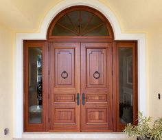 48 Ideas main door design double indian for 2019 Wooden Front Door Design, Double Door Design, Wooden Front Doors, Room Door Design, House Design, Interior Barn Door Hardware, Double Front Doors, Front Entry, Door Molding