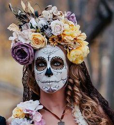 sugar skull makeup man - Buscar con Google