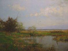 Jan Holtrop, voorjaar - Wijde blik, Kortenhoef, Galerie Wijdemeren Breukeleveen