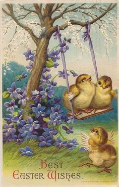 Old Easter Post Card —   (541x850)
