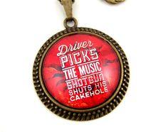 Supernatural quote necklace   Sam & Dean