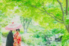 この時期はとっても緑がキレイな季節なのでロケーションフォトが、おすすめです!!洋装はもちろん和装のお姿も緑にとっても映えます☺夏の前撮りキャンペーンも開催中です!!ロケーション撮影お考え中の方はぜひこの機会に撮影してみませんか♡定員になり次第しめきりとなりますのでお早めにっ!ロケーションフォト Wedding Photos, Wedding Ideas, Kimono, Marriage Pictures, Wedding Photography, Kimonos, Wedding Pictures, Wedding Ceremony Ideas