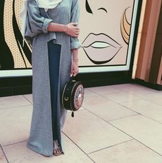 hijab images, image search, & inspiration to browse every day. Islamic Fashion, Muslim Fashion, Modest Fashion, Style Fashion, Street Hijab Fashion, Abaya Fashion, Hijab Dress, Hijab Outfit, Turban