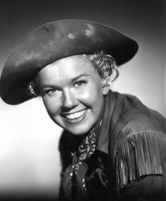 Doris Day as Calamity Jane, 1953. I think half my personality came from idolizing Doris as Calam and watching that movie more times than I count...
