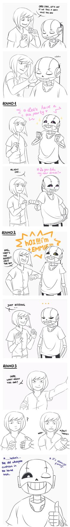 Cybertale: Sans voice disk by Ethai<<< I'm in love with this AU !!!!!