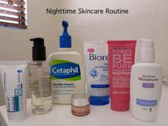 My nighttime skincare routine for combination oily skin