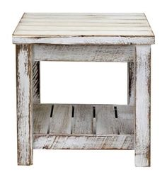 Beachwood Furniture - Recycled timber side table 600 x 600mm