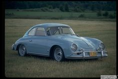 1958 Porsche 356 Outlaw Coupe Lt Blue