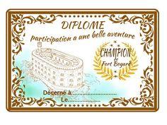 diplôme de participation donné dans le sac cadeau aux enfants