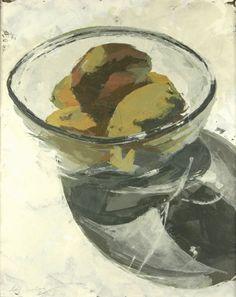 Kelley Somer: mangoes in glass