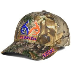 Top of the World Florida Gators Realtree XB1 Camo Cap ($30) ❤ liked on Polyvore featuring men's fashion, men's accessories, men's hats, camo, mens caps and hats and mens camo hats