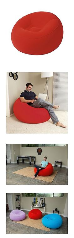 Other Outdoor Toys Structures 11742: Bestway Inflate-A-Chair Inflatable Furniture Red New -> BUY IT NOW ONLY: $33.84 on eBay!