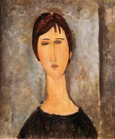Amedeo #Modigliani  Livorno (I), 12 luglio 1884 - Parigi (F) 24 gennaio 1920