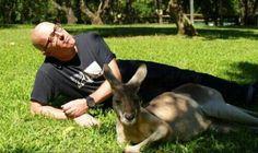 maynard james keenan and a kangaroo