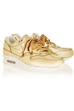 Adding these Nike Metallic Gold Airs to our collection.