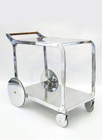Furnish Fabulously. A Regency Bar Cart.
