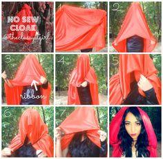 No Sew Cloak