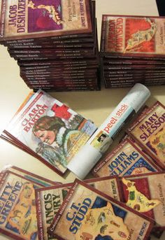 Christian Heroes: biography book series for kids.