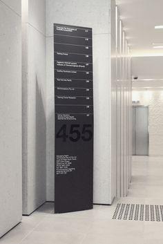 Hofstede Design, graphic design, wayfinding, signage