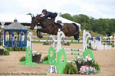 El jinete mexicano Santiago Lambre estuvo indetenible para cargar con la victoria en el $50,000 Great Lakes Grand Prix CSI 2* en Michigan.