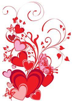 png corazones transparentes - Buscar con Google