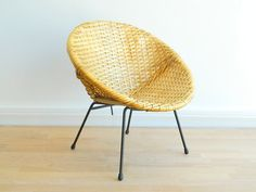 Mid Century Modern Woven Childs Hoop Chair by MonkiVintage, $90.00