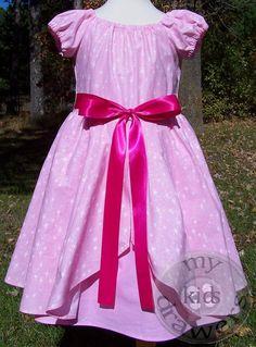 Size 5/6 Princess and the Frog CHARLOTTE Lottie La Bouff Dress by #MyKidsDrawers