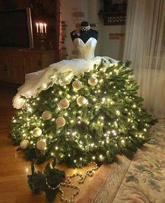 Crazy Christmas Tree Bride Christmas Tree