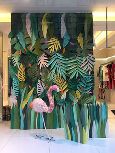 Best backyard party backdrop 38 Ideas backyard party is part of Backdrops for parties - Deco Jungle, Jungle Party, Safari Party, Paper Leaves, Paper Flowers, Party Kulissen, Ideas Party, Party Props, Vitrine Design