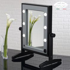 Bathroom Lighting, Make Up, Mirror, Home Decor, Bathroom Light Fittings, Bathroom Vanity Lighting, Decoration Home, Room Decor, Mirrors