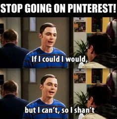 Sheldon knows what's up.