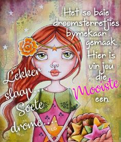 Goeie Nag, Afrikaans Quotes, Good Night Quotes, Birthday Wishes, Qoutes, Inspirational Quotes, Anime, Sleep Well, Master Bedrooms