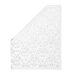 Stylo Punched Metal Magazine Holder Cream - Desktop Accessories - Stationery & Office Supplies - The Warehouse