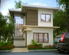 The Sincere, Catalunan Pequeño, Davao City - Camille Model Philippines House Design, Philippine Houses, Home Themes, Davao, Facade House, Model Homes, Building A House, House Plans, Home And Garden