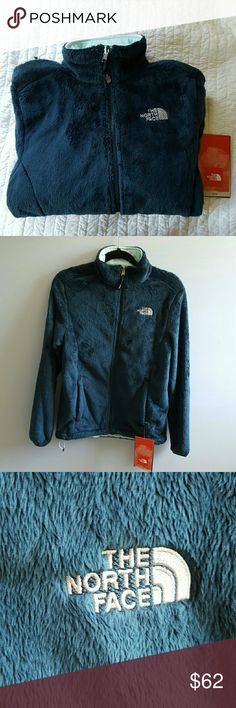 NWT North Face Osito Jacket Brand new North Face jacket in a beautiful dark blue/green color. Feel free to ask any questions. Price is firm! North Face Jackets & Coats
