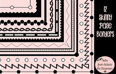 great borders for printables