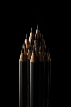 black pencils photo