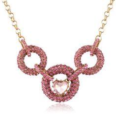 "Betsey Johnson ""Iconic Pinkalicious"" Crystal Link and Heart Necklace, 19"", http://www.amazon.com/dp/B00DBK7YGO/ref=cm_sw_r_pi_awdm_jxcNsb02WMTQE"