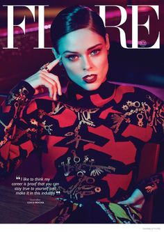 Coco Rocha Stars in Flare, Says Why She Won't Pose Nude