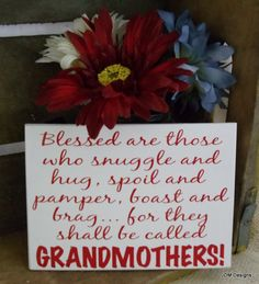Blessed are grandmothers by VinylByJDM on Etsy, $10.00