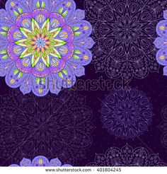 Seamless background of circle lace patterns. Vector texture for spring/summer fashion fabric, textile design, background for invitation card or holiday decor, web design.