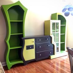 Kelly's Stunning Dining Room Cabinets – dust furniture*