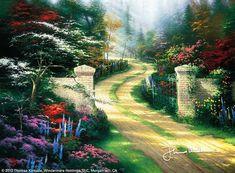 Resultado de imagem para pintura em tela de portão